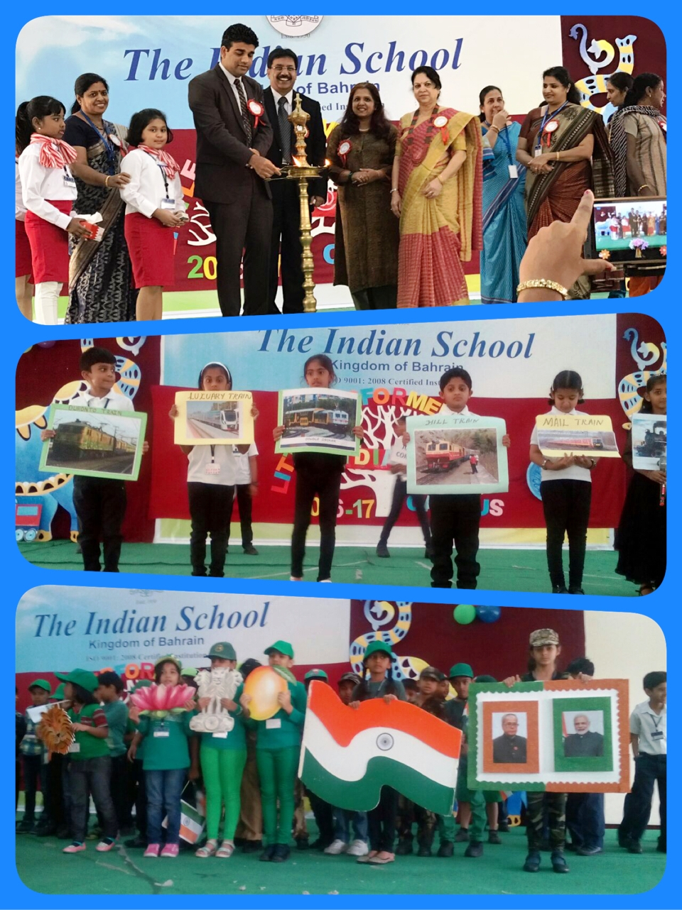 "LITTLE PERFORMERS OF ISB CELEBRATING ""INDIA @ 70"""
