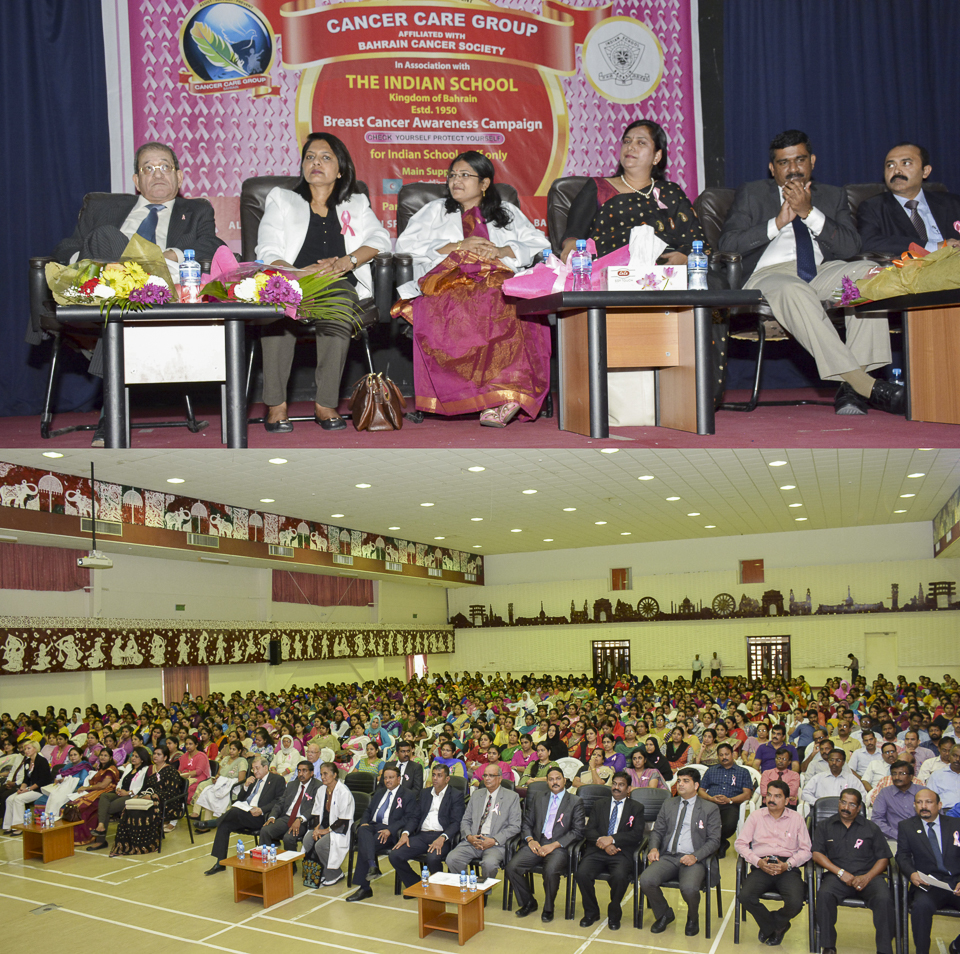 BREAST CANCER AWARENESS Programme at Indian School
