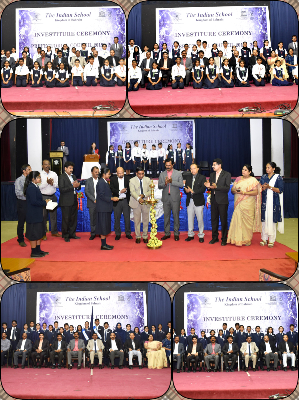 ISB Conducts Investiture Ceremony for Prefects