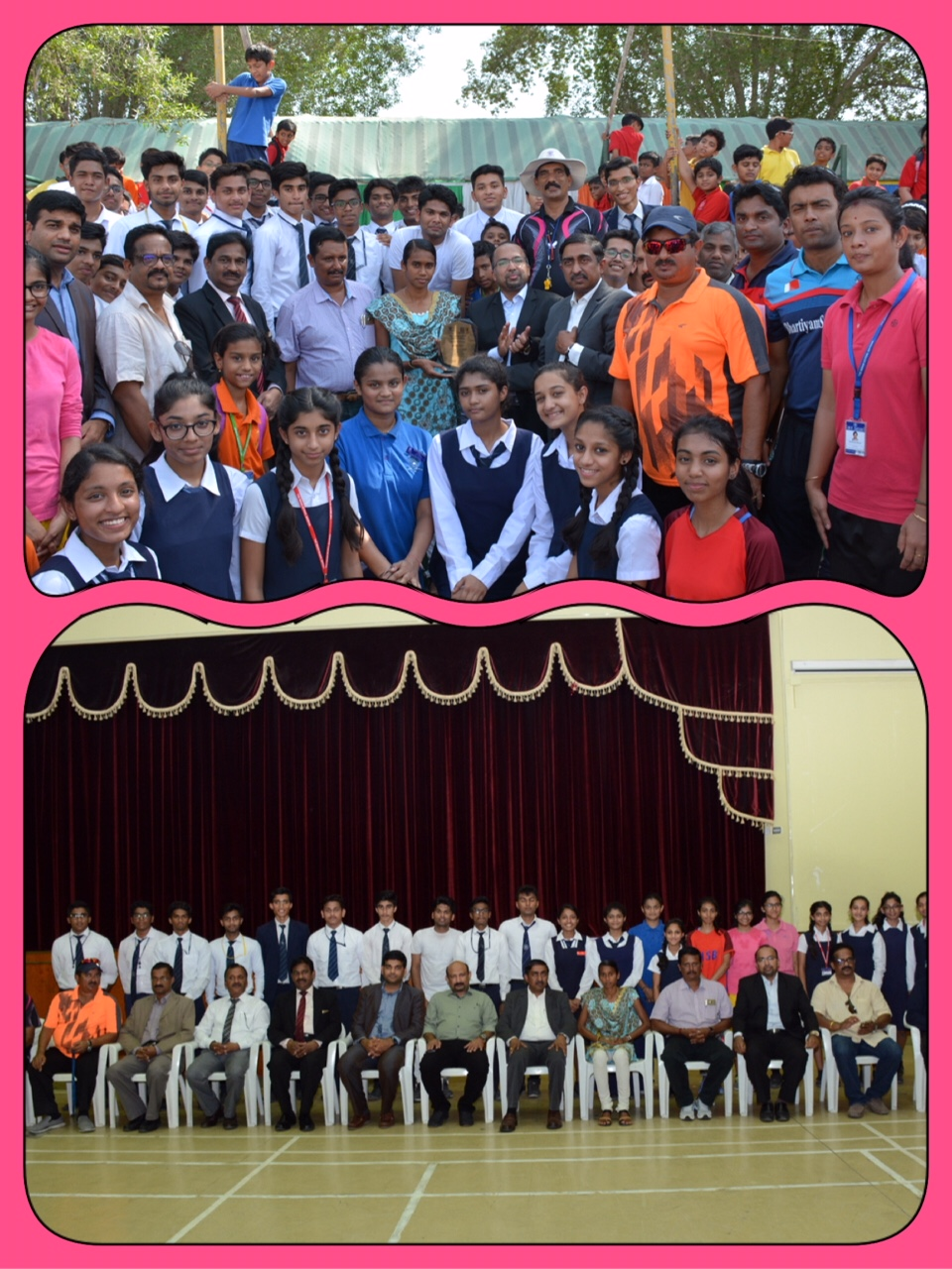 Indian athlete PU Chithra visits ISB