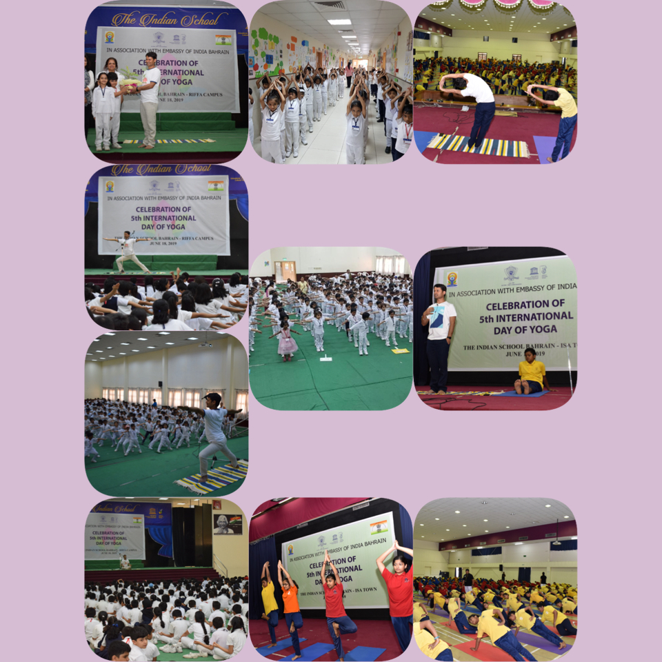 ISB Celebrates Yoga Day