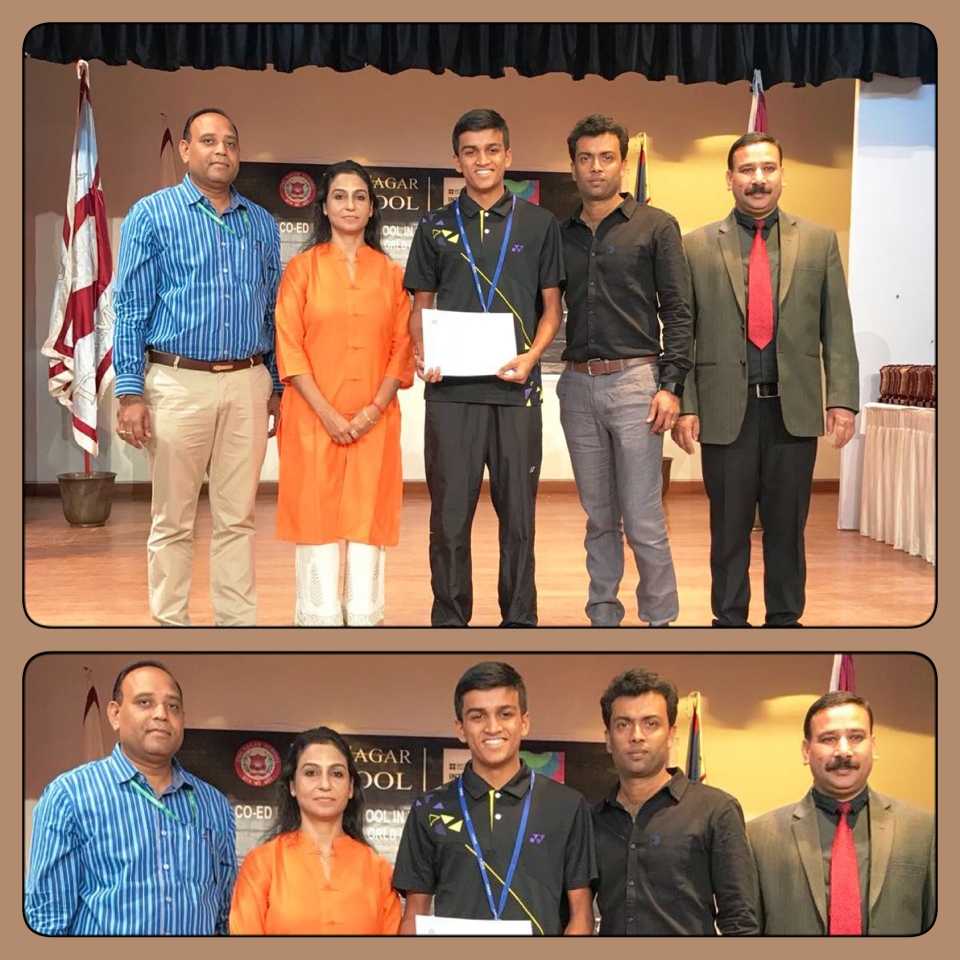ISB wins gold in CBSE National Badminton Championship