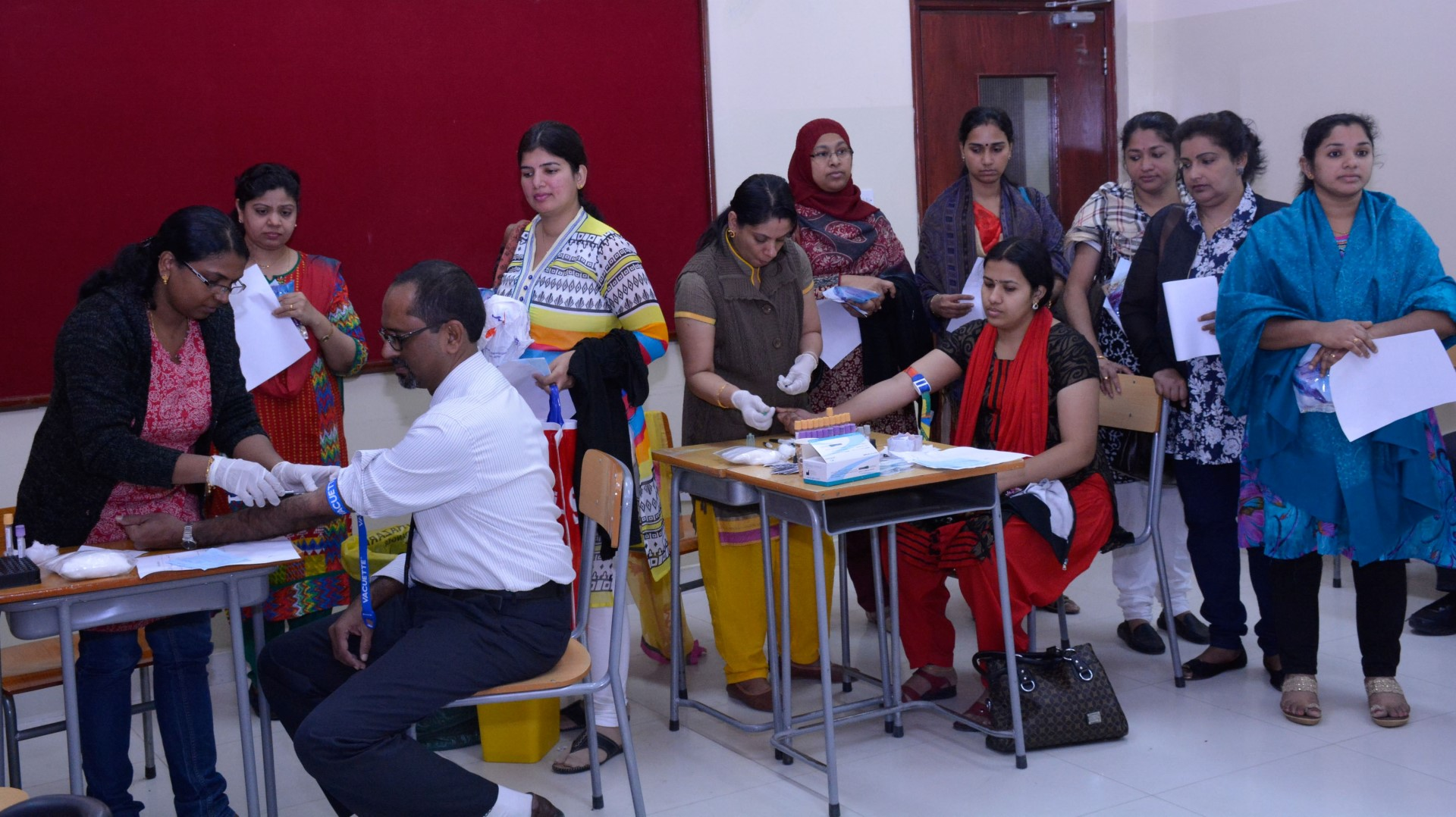 Medical services at the Indian School Saturday February 6, 2016