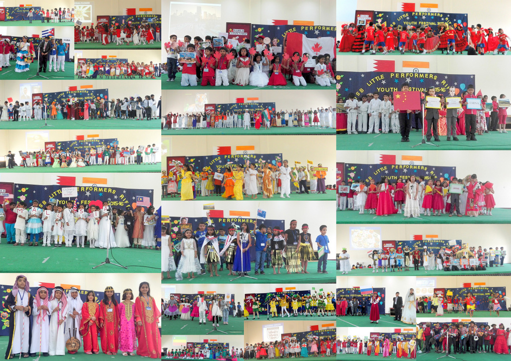 ISB LITTLE PERFORMERS - YOUTH FESTIVAL 2015-2016    WORLD CITIZENSHIP: CLASS 2  The Little Performers of Class 2 took us on an International escapade across the globe. The culture and civilization of countries was depicted in speech, costume, song and dan