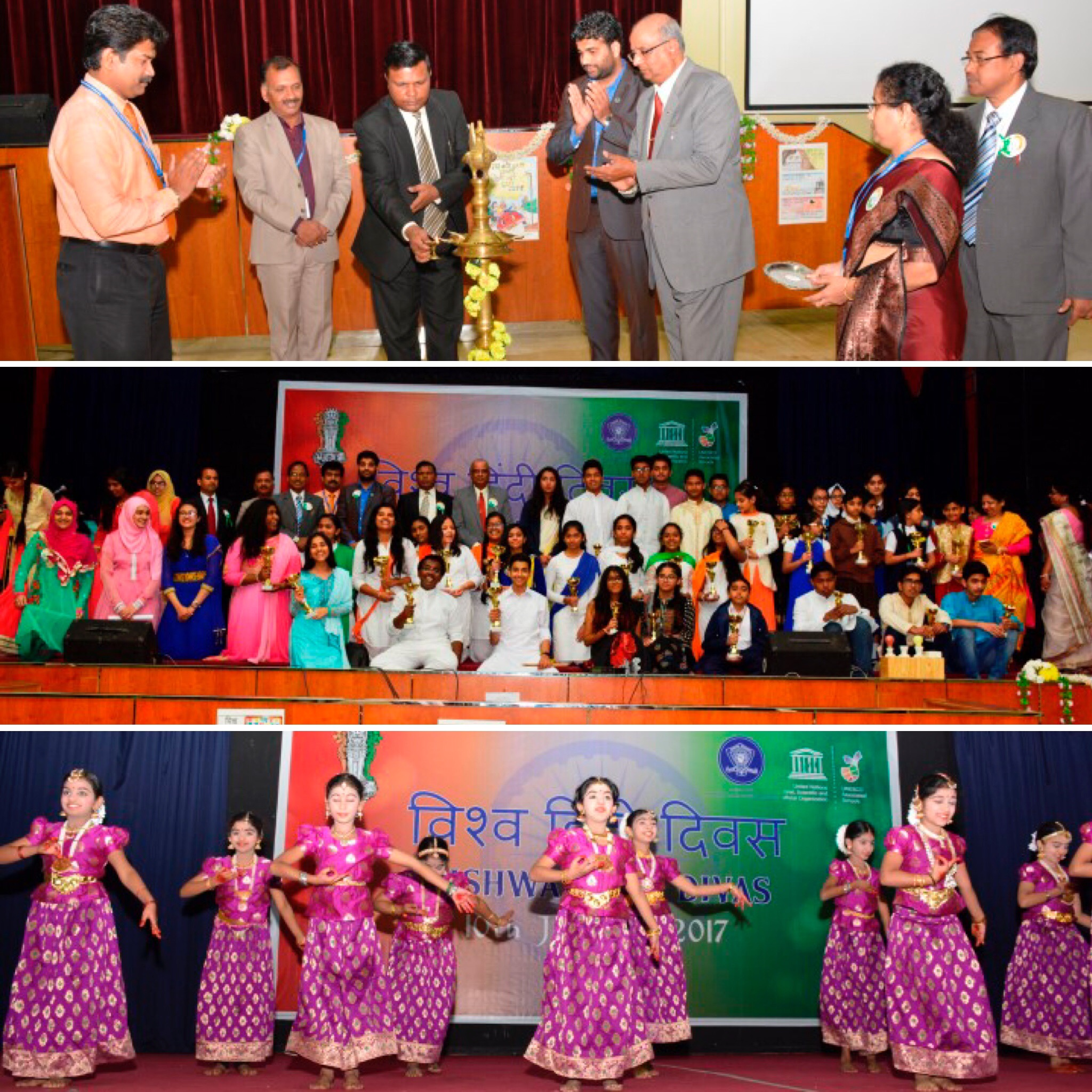 Viswa Hindi Divas celebrated at the Indian School