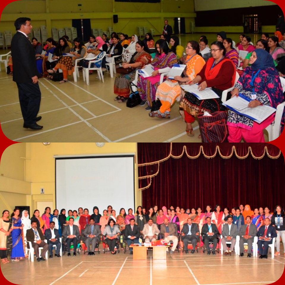 Hindi Workshop at the Indian School , Bahrain