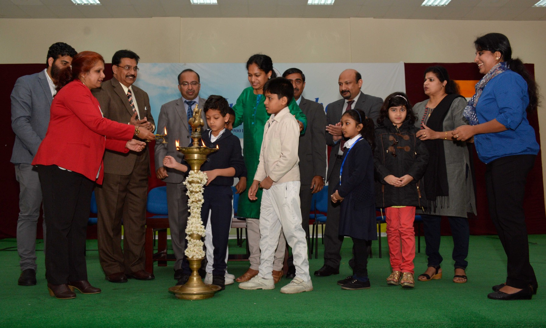 INAGURATION OF SPORTS ACADEMY